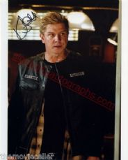 KENNETH 'KENNY' JOHNSON  signed- KOZIK  SONS OF ANARCHY SIGNED 8x10